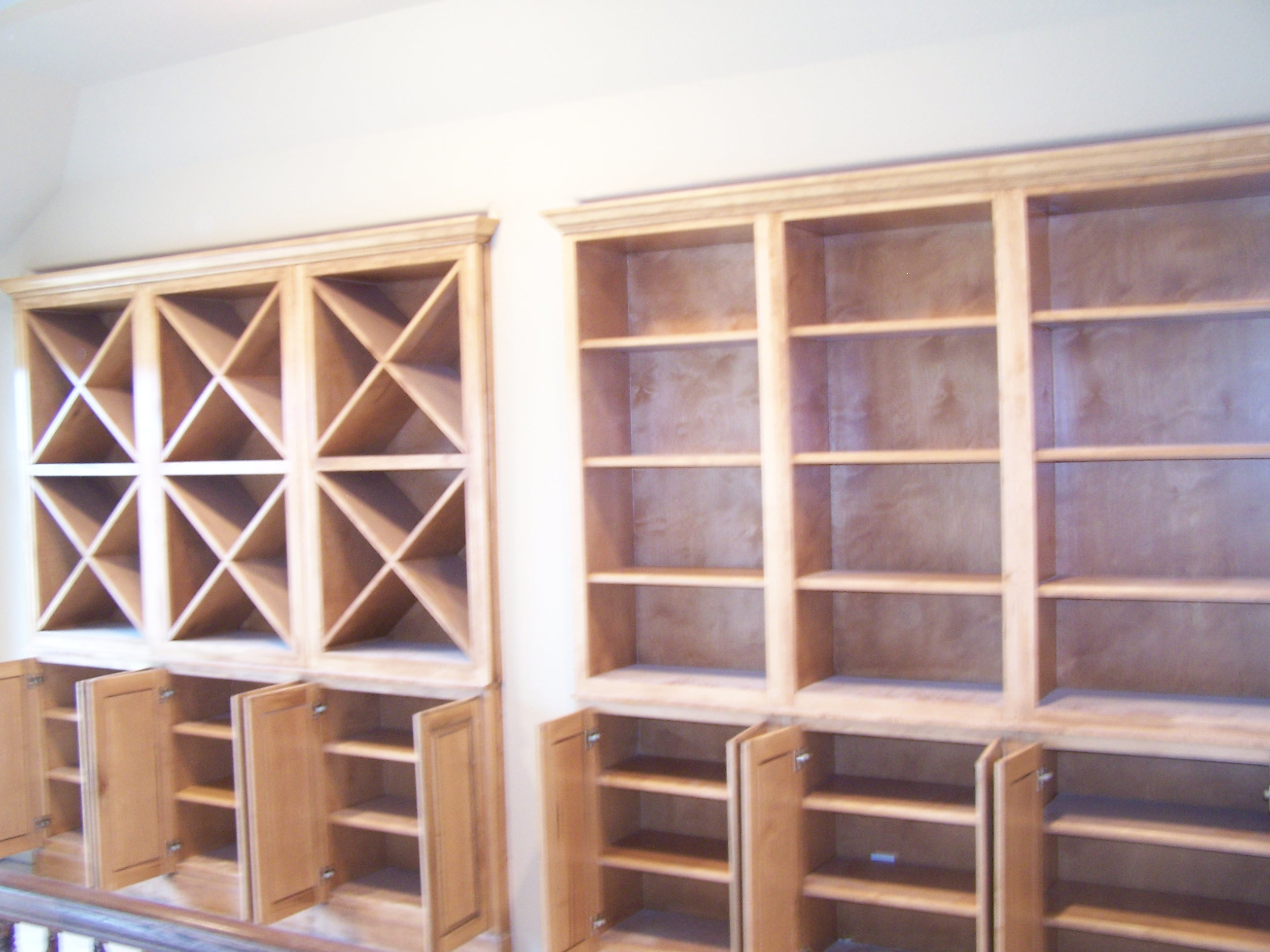 Wine Rack & Bookcase